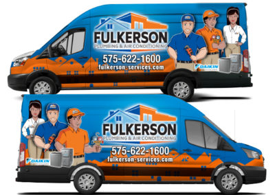 Fulkerson Van Wrap