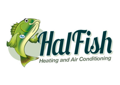 HalFish HVAC logo